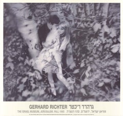 """Gerhard Richter-Lovers in the Forest-26.75"""" x 28.25""""-Poster-1995-Contemporary"""
