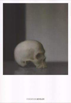 """Gerhard Richter-Schadel (Skull)-39.5"""" x 27.5""""-Poster-Contemporary-Gray"""