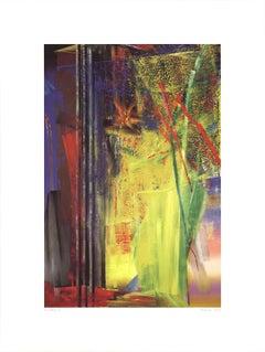 "Gerhard Richter-Victoria II-31.5"" x 23.5""-Poster-2003-Contemporary-Multicolor"