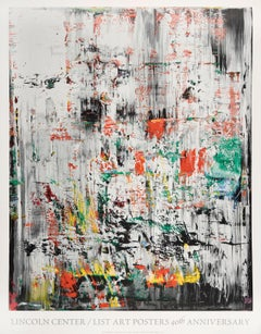 Lincoln Center, Screen Print, Poster, Abstract, Contemporary by Gerhard Richter
