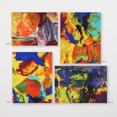 P08-P11 (portfolio) - Richter, Contemporary, 21st Century, C Print, Brushstrokes