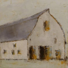 Forgotten Barn I by Geri Eubanks, Medium Size Impressionist Framed Painting