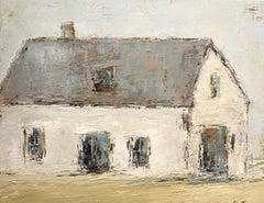 French Barn III by Geri Eubanks, Horizontal Impressionist Framed Painting