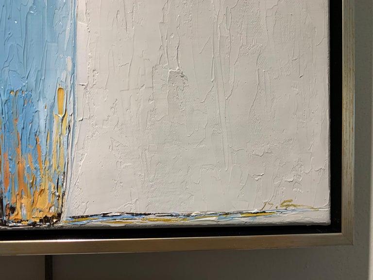 Olivia by Geri Eubanks, Framed Impressionist Oil on Canvas Painting 2