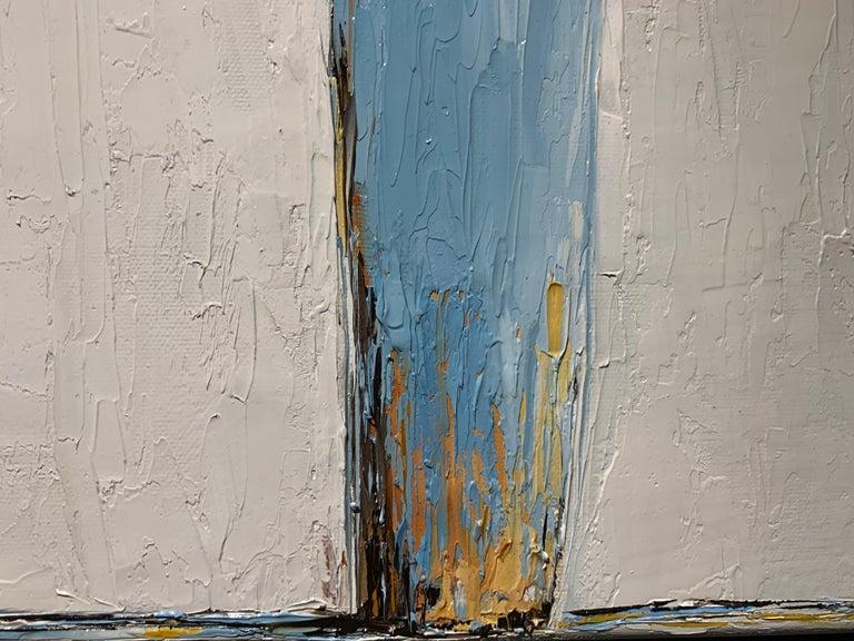 Olivia by Geri Eubanks, Framed Impressionist Oil on Canvas Painting 3