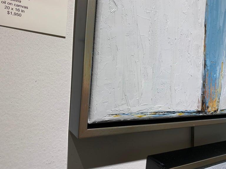 Olivia by Geri Eubanks, Framed Impressionist Oil on Canvas Painting 6