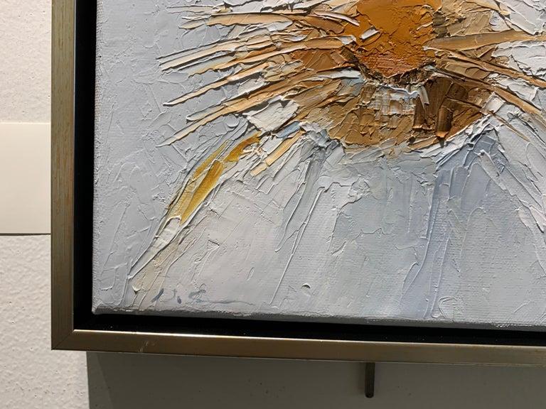 Oscar by Geri Eubanks Small Framed Rabbit Painting 4