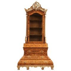 German 18th Century Rococo Cabinet