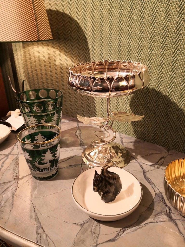 German Art Nouveau Silver Centerpiece Bowl For Sale 5