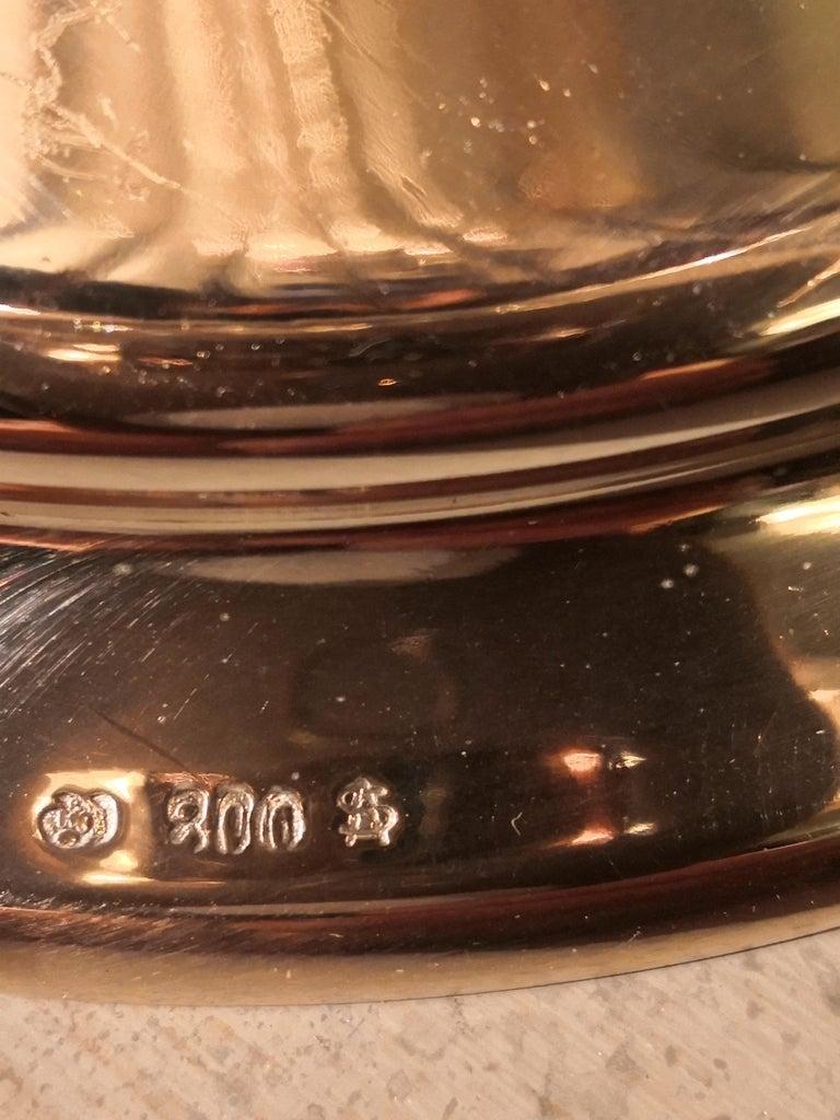 German Art Nouveau Silver Centerpiece Bowl For Sale 1