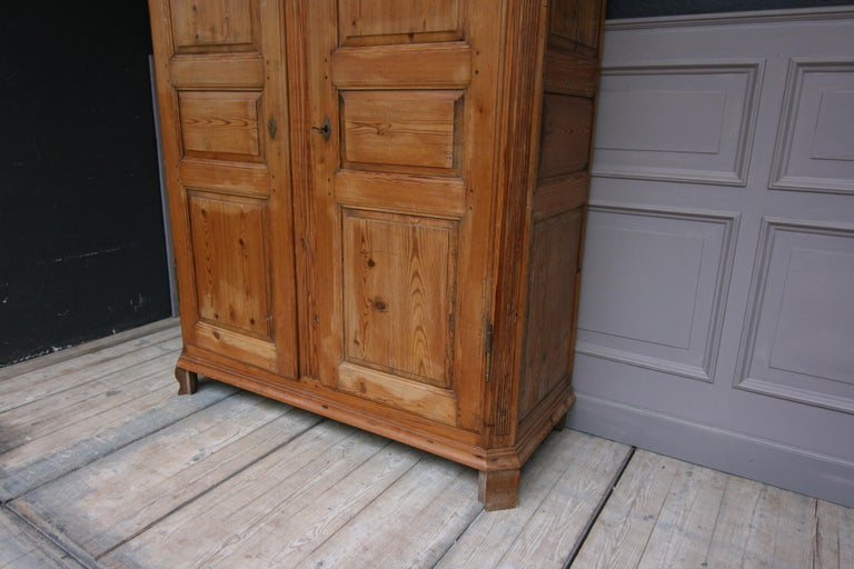 German Baroque Cabinet Made of Pine For Sale 6