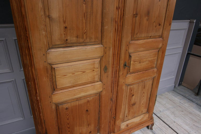 German Baroque Cabinet Made of Pine For Sale 11