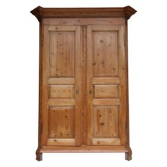 German Baroque Cabinet Made of Pine