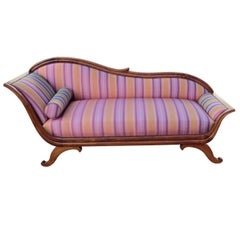 German Biedermeier Period Chaise Longue