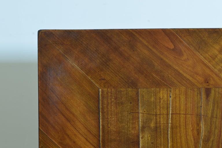German Biedermeier Period Cherrywood and Ebonized Library Table, circa 1835 For Sale 8