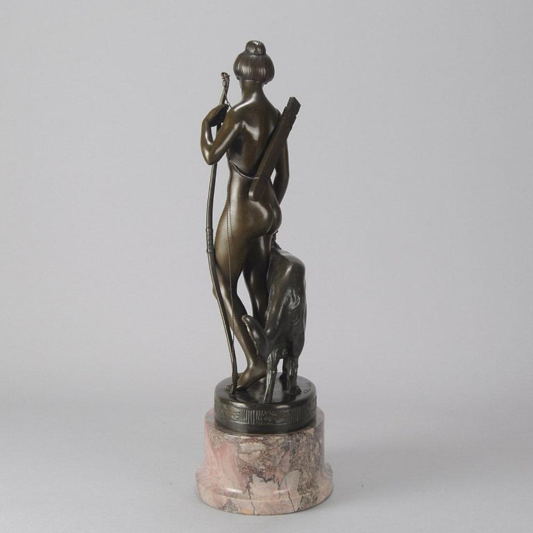 Early 20th Century German Bronze Figure