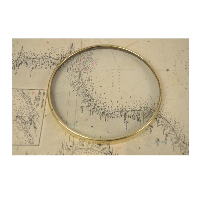 German Compass in Its Original Wooden Box with Slot Lid, 1860 For Sale 6