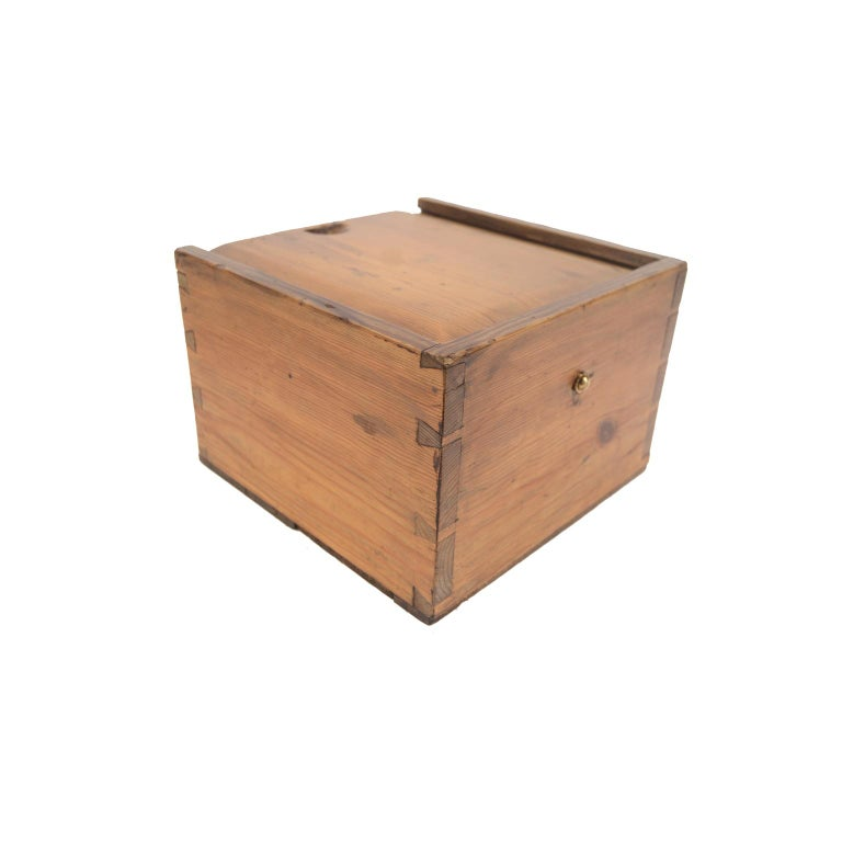 German Compass in Its Original Wooden Box with Slot Lid, 1860 For Sale 8