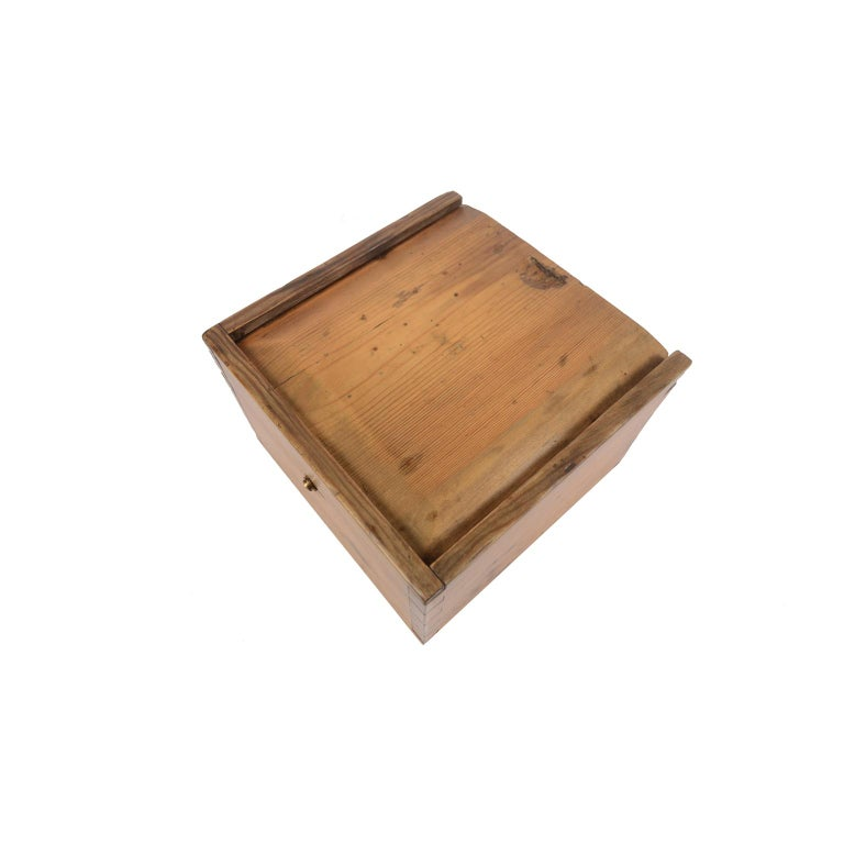 German Compass in Its Original Wooden Box with Slot Lid, 1860 For Sale 9