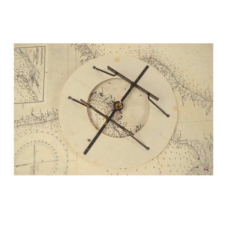 German Compass in Its Original Wooden Box with Slot Lid, 1860 For Sale 4