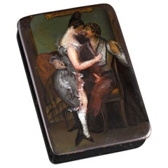 German Erotic Snuff Box