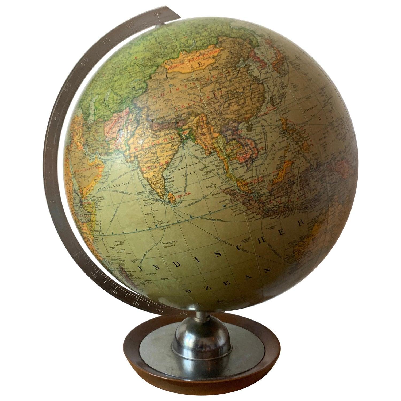 Historischer Globus nach Didier Robert de Vaugondy um 1745 Tischglobus