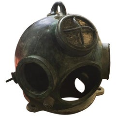 German Hagenuk Deep Sea Diving Helmet, circa 1920s