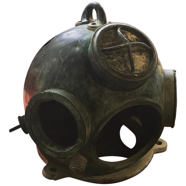 German Hagenuk Deep Sea Diving Helmet, circa 1920s For Sale