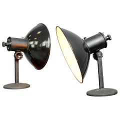German Industrial Lamps, circa 1950s