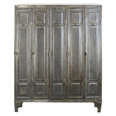 German Industrial Lockers by Kuppersbusch, circa 1920s