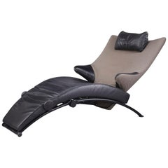 German Leather Solo 699 Lounge Chair by Stefan Heiliger