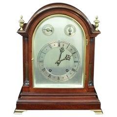 German Mahogany Ting Tang Bracket Clock by Winterhalder & Hofmeier