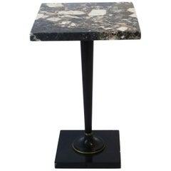 German Marble Side or Drinks Table