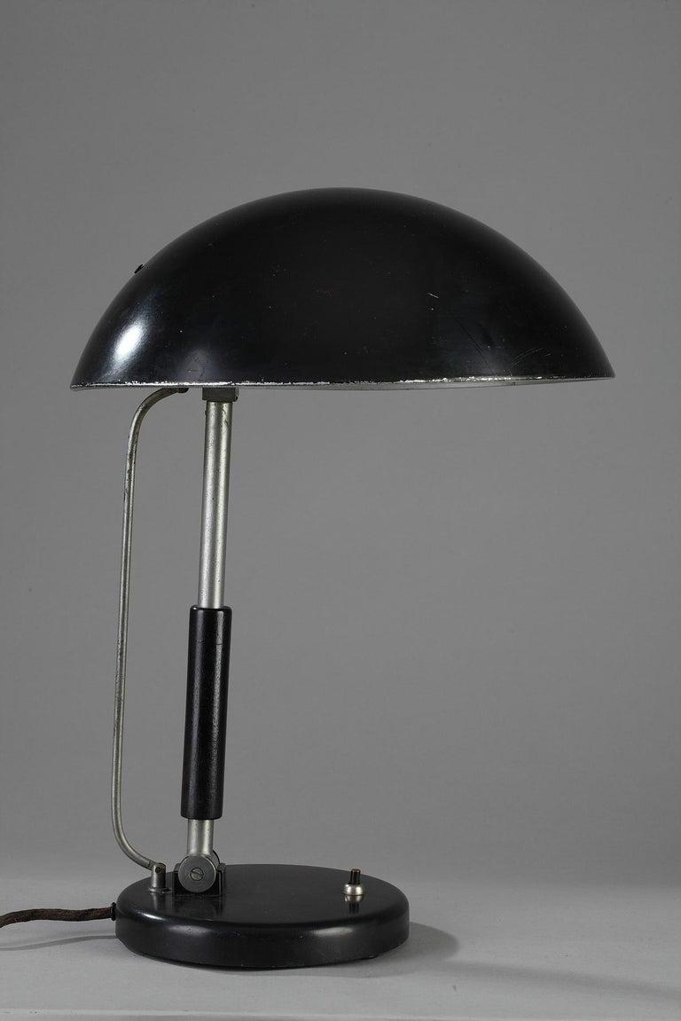 Art Deco German Modernist Desk Lamp by Karl Trabert & G. Schanzenbach & Co. For Sale