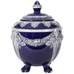 German Porcelain Covered Decorative Piece