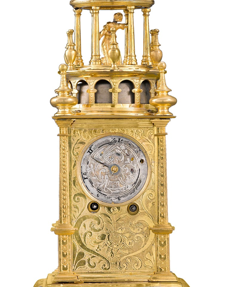 18th Century and Earlier German Renaissance Turret Clock For Sale