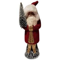 German Santa Claus Figure Papier Mâché Sofina Boutique Kitzbühel