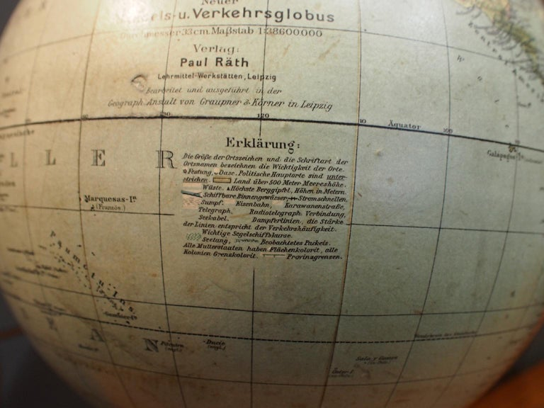 German School Globe from the 1920s For Sale 1