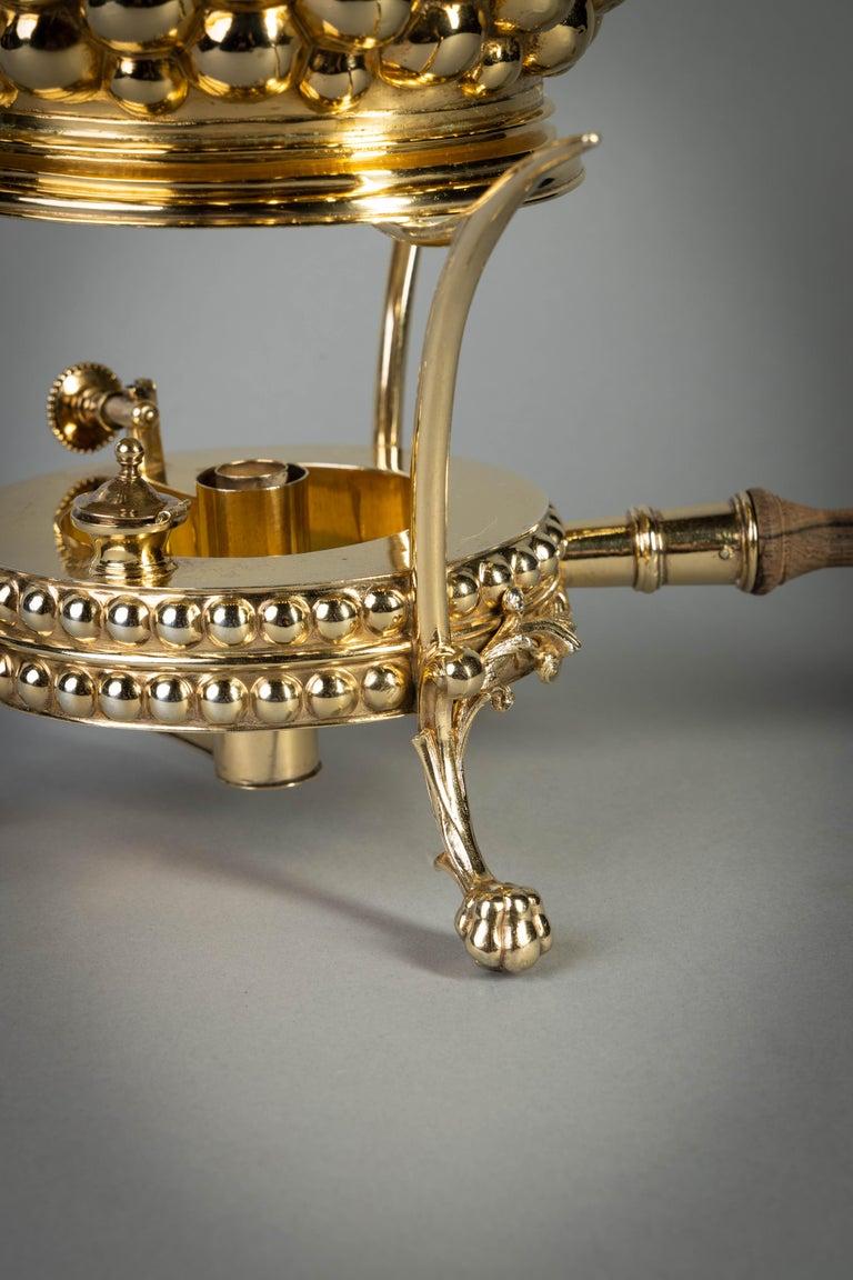 German Silver Gilt Tea and Coffee Service, circa 1875 For Sale 9