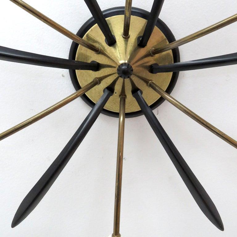 Mid-20th Century German Six-Arm Sputnik Light, 1960 For Sale