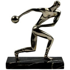 German Statue of an Olympian
