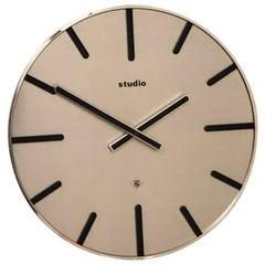 German TN Telenorma Studio Electric Wall Clock