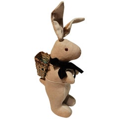 German Vintage Easter Bunny Figure