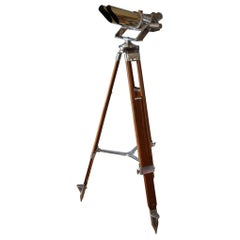 German WWII Binoculars by Schneider, Kreuznach, Germany