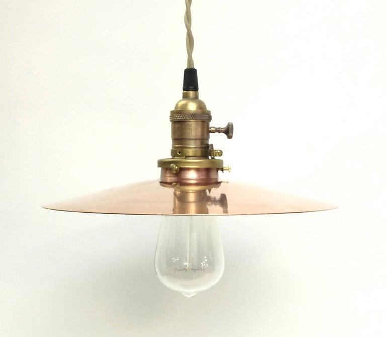 German hanging lamps of four different diameters (7.5
