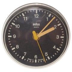 Germany BRAUN AG Domo Quartz Modern Wall Clock 1970s Vintage