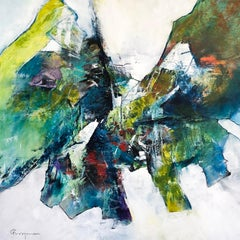 Butterfly - Contemporary Abstract Painting