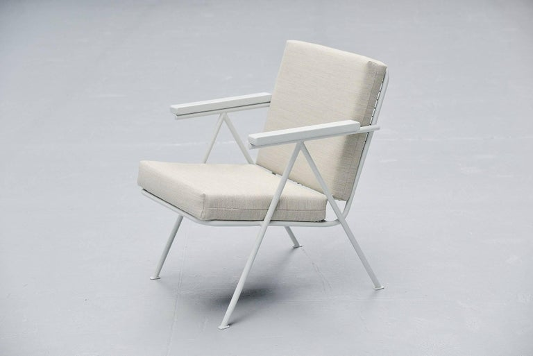 Cold-Painted Gerrit Rietveld Amersfoortse / Nemefa Chair, 1949 For Sale