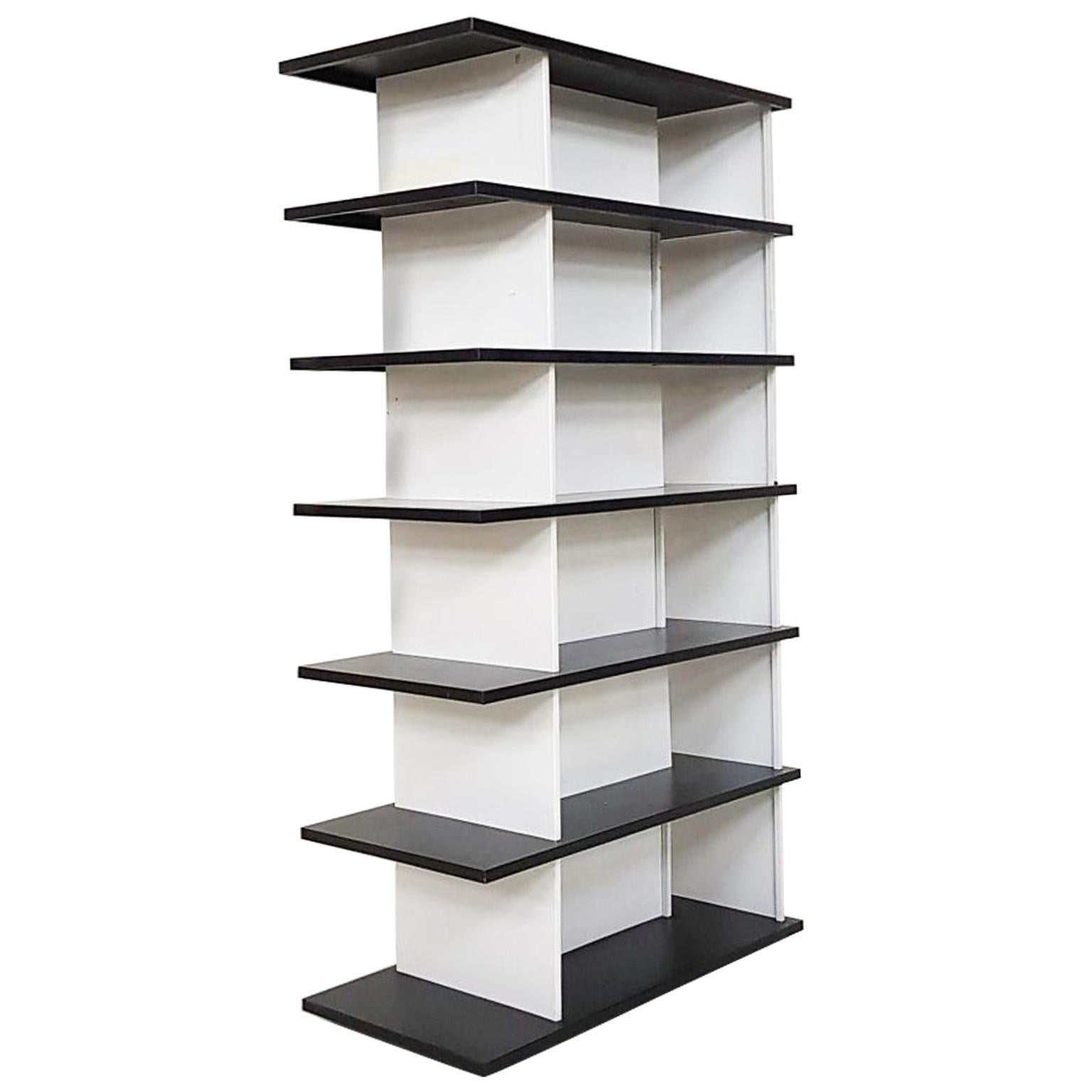 Gerrit Rietveld inspired Room Divider or Bookcase by Wim Rietveld, Dutch, 1960s