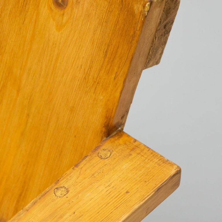 Gerrit Rietveld Mid-Century Modern Wood Crate Chair, circa 1950 For Sale 8
